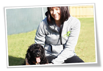 Melinda and Marli at Urban Paws Doggy Day care